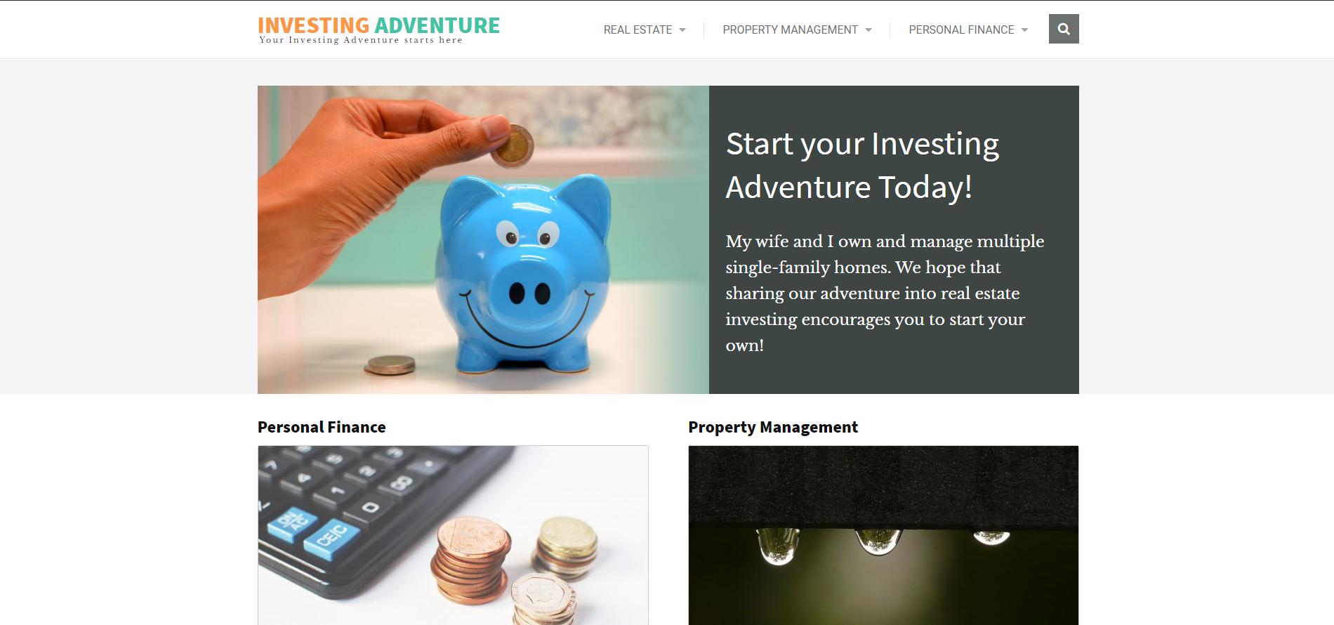 Investing Adventure